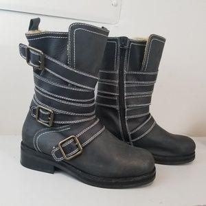 Jeffrey Campbell Biker Boot 8.5 M